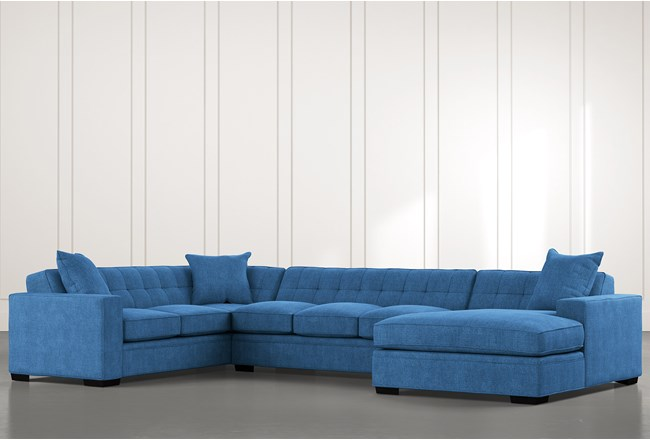 Costello II Blue 3 Piece Sectional - 360