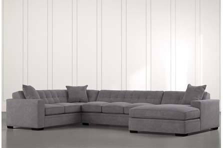 Costello II Dark Grey 3 Piece Sectional