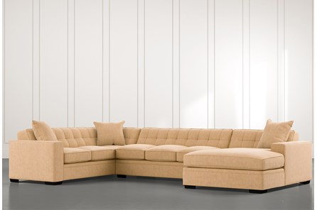 Costello II Yellow 3 Piece Sectional
