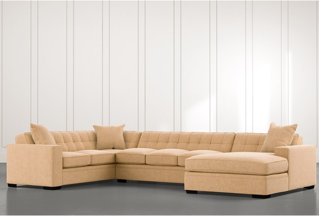 Costello II Yellow 3 Piece Sectional - 360