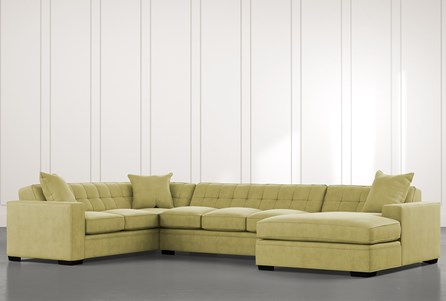 Costello II Green 3 Piece Sectional