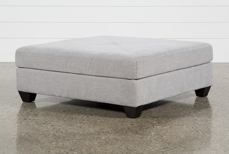 Harper Down II Square Cocktail Ottoman