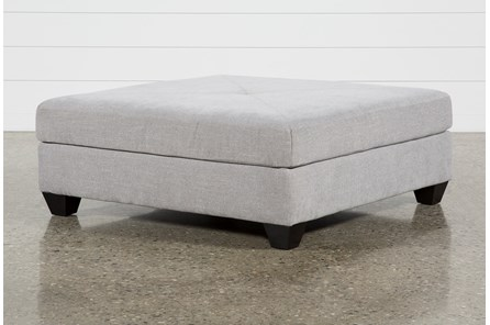 Harper II Silverpine Square Cocktail Ottoman - Main