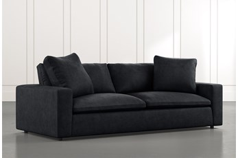 Utopia Black Sofa