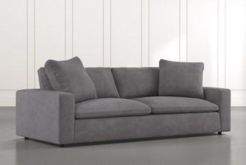"""Utopia 96"""" Dark Grey Sofa"""