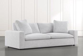 "Utopia 96"" Light Grey Sofa"