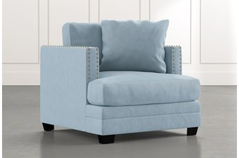 Kiara II Light Blue Chair