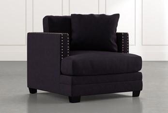 Kiara II Black Chair