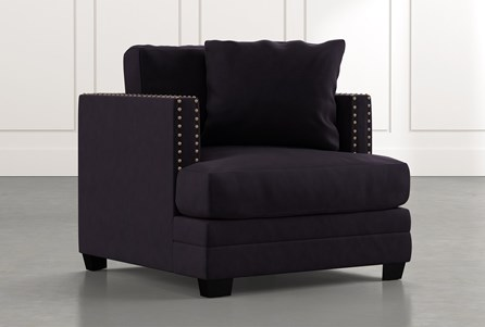 Kiara II Black Chair