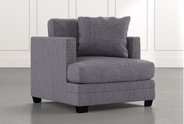 Kiara II Dark Grey Chair