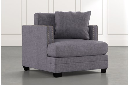 Kiara II Dark Grey Chair