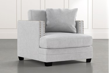 Kiara II Light Grey Chair