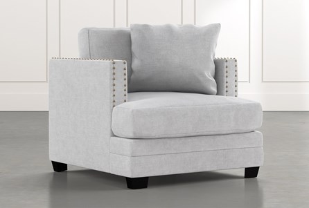 Kiara II Light Grey Chair