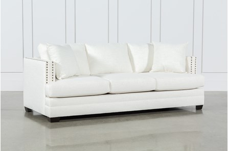 White Sofas & Couches - Free Assembly with Delivery | Living ...