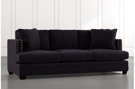 Kiara II Black Sofa