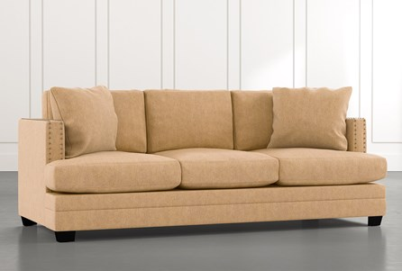 Kiara II Yellow Sofa
