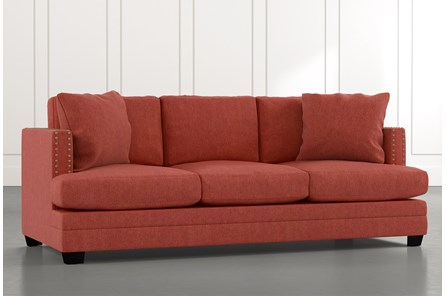 Kiara II Red Sofa