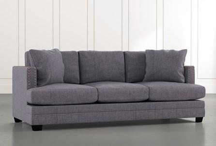Kiara II Grey Sofa