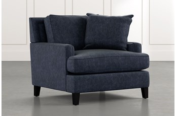 Madalyn Navy Blue Chair