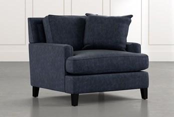 Madalyn Navy Blue Chair
