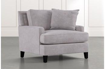 Madalyn Light Grey Chair