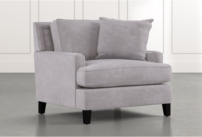 Madalyn Light Grey Chair - 360