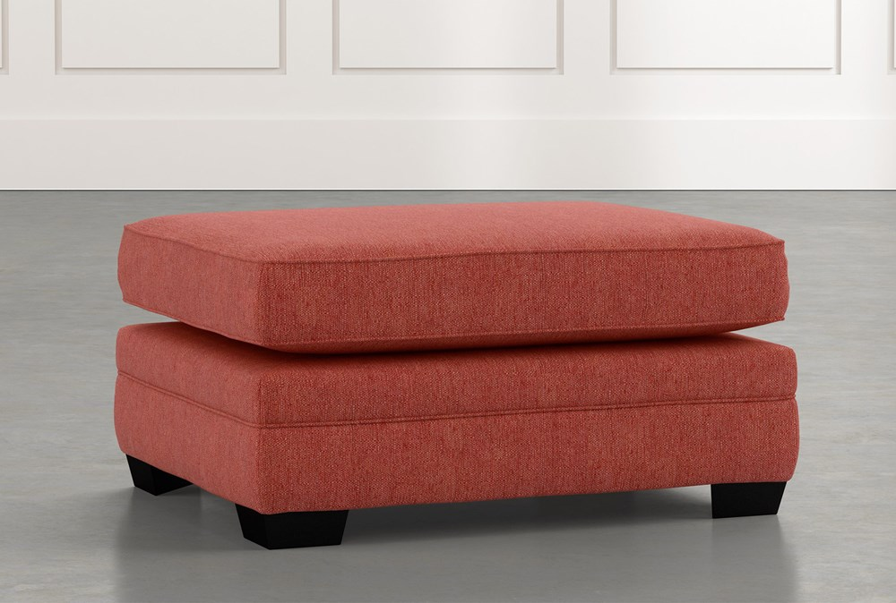 Madalyn Red Ottoman