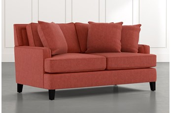 Madalyn Red Loveseat