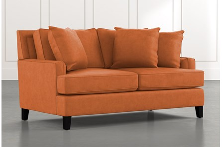 Madalyn Orange Loveseat