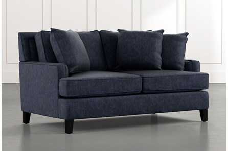 Madalyn Navy Blue Loveseat