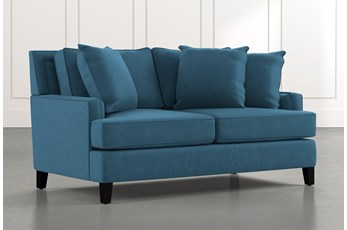 Madalyn Blue Loveseat