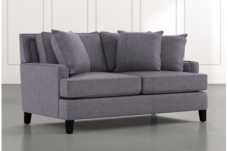 Madalyn Dark Grey Loveseat