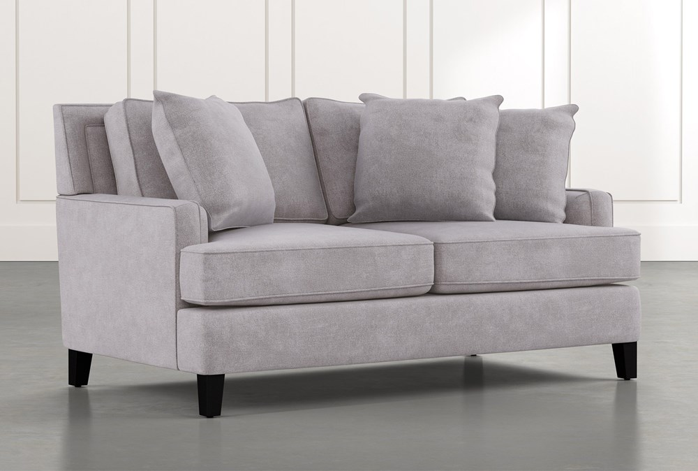 Madalyn Light Grey Loveseat