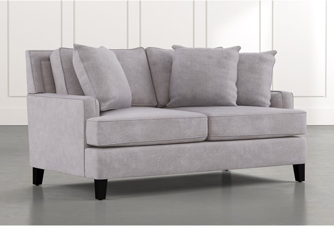 Madalyn Light Grey Loveseat - 360