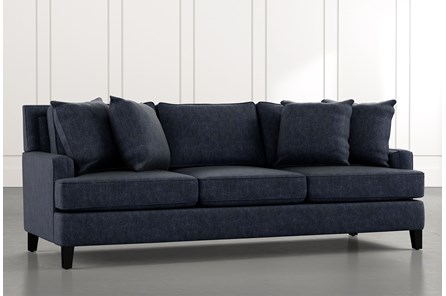 Madalyn Navy Blue Sofa