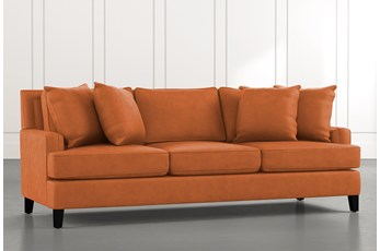Madalyn Orange Sofa
