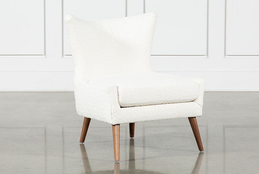 Tate II Snow Accent Chair
