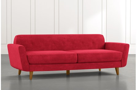 Chill II Red Sofa