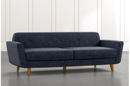 Chill II Navy Blue Sofa
