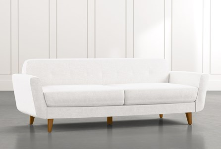 Chill II White Sofa