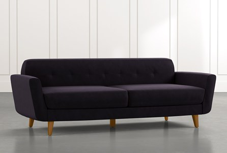 Chill II Black Sofa