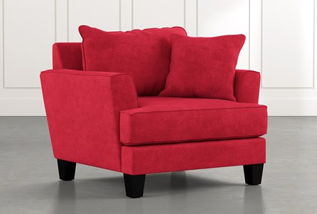 Elijah II Red Chair