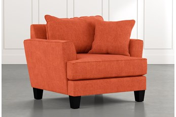 Elijah II Orange Chair