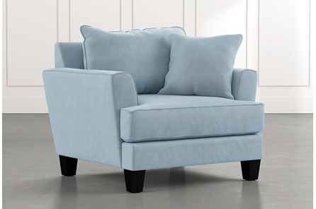 Elijah II Light Blue Chair