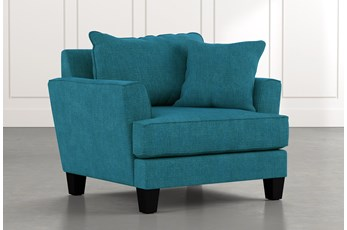 Elijah II Teal Chair
