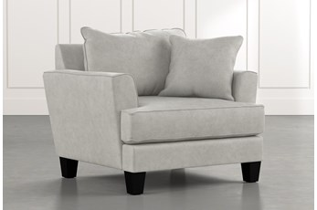Elijah II Light Grey Chair