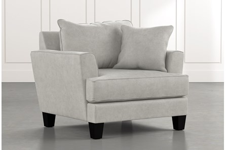 Elijah II Light Grey Chair