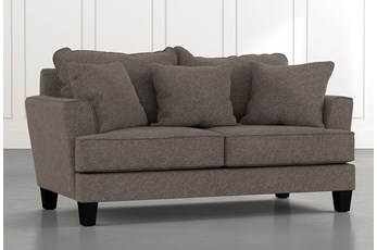 Elijah II Dark Grey Loveseat