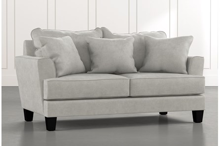 Elijah II Light Grey Loveseat