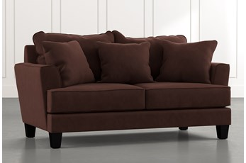 Elijah II Brown Loveseat